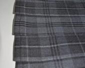 Baby Kilt, 2-3 years,  Grey Granite tartan Baby Kilt, Polyviscose, machine washable.