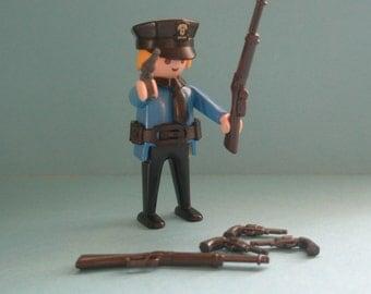 Playmobil Guns, Pistols and Shot guns, set of 6, 4 shot guns / 2 pistols, Playmobil parts / accessories, egst, Greece