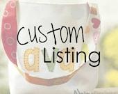Custom listing for Jill