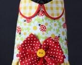 Ladybugs & Daisies Dog Harness