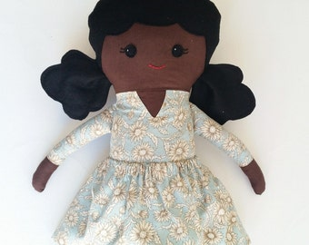 "Handmade african doll, rag doll, african rag doll, cloth doll, african cloth doll, black doll 24"" handmade african doll, african american"