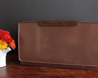 Vintage Metal Bread Box by Lincoln Beautyware Retro Kitchen Storage