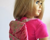 Made To Fit Like American Girl Doll Clothes; Doll Backpacks; Doll Backpack; Doll Purse; Stuffed Animal Backpack; Backpack
