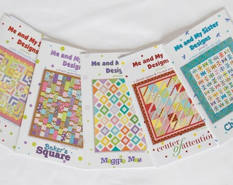 Paper Pattern Bundle #5 - Me and My Sister Designs