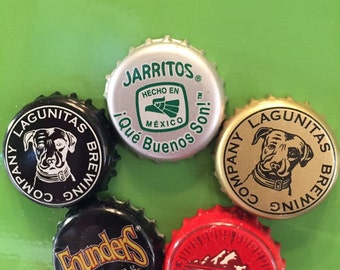 Whimsical Bottlecap Magnets