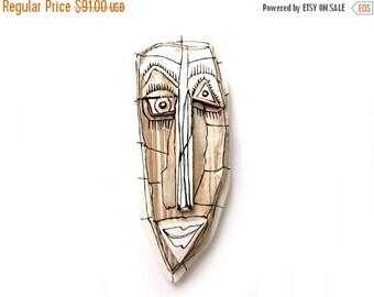 Crazy art face, Contemporary ceramic, Art sculpture, Wall mask, Ceramic mask, Creepy art, Abstract ceramic, Wall sculpture, 99heads