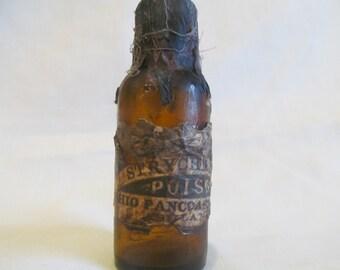 Halloween Potion Bottle/Jar Strychnine Poison