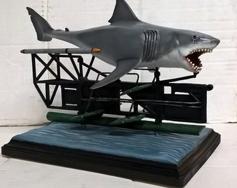 JAWS Movie Bruce the Shark Behind the Scenes Resin Model Kit