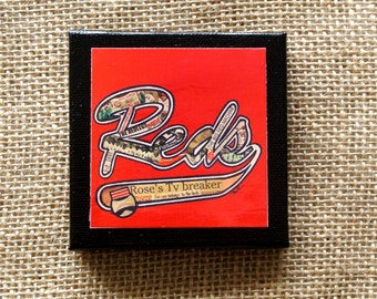 CINCINNATI REDS REDLEGS - Mini Canvas Magnet