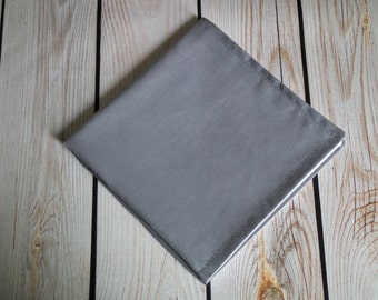 DARK GRAY cloth napkin, fabric dinner napkin, reusable, wedding table linens, assorted sizes & colors available