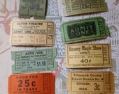 HUGE SALE Zoe's Vintage and Antique Ticket Collector's Delightful Assorted Lot