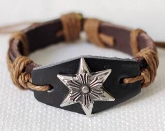 876 Men bracelet Women bracelet Star bracelet Badge bracelet Ropes bracelet Bangle bracelet Leather bracelet Fashion bracelet
