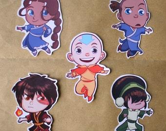 Last Airbender & Korra stickers