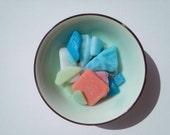 Milk Glass Shards,Opaque Glass Shards,Pendant Supplies,Mint Blue,Jade Green,White,Pink Milk Sea Glass
