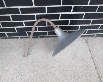 Vintage Steber Industrial/Barn Gas Station Light