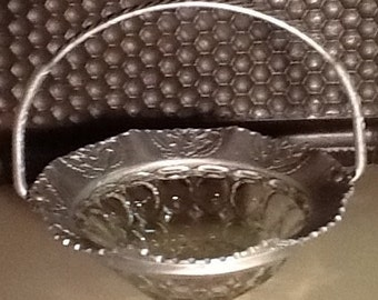 Glass and Aluminum Basket