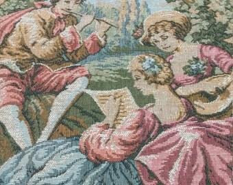 Vintage Tapestry France