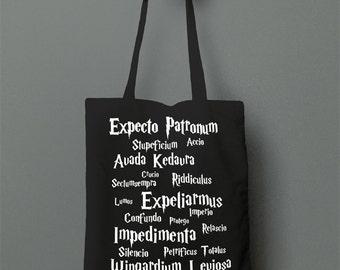 Harry Potter Spells - Tote Bag
