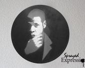 Jay Z Vinyl Record Painting