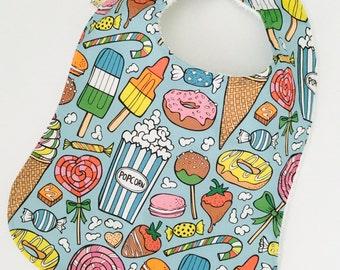 Baby bib   Toddler bib   Icecream bib   bib   Neutral bib   Girl bib   boy bib   Hipster bib   Junkfood bib   Donut bib