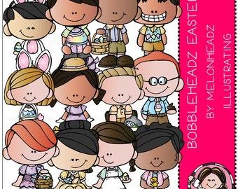Easter clip art - Bobbleheadz - Combo Pack