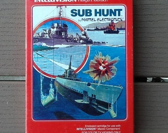 Sub Hunt IntelliVision Master Component Cartridge