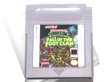 Vintage 1991 TMNT Fall of the Footclan Game Boy Game, Nintendo Games, Vintage Toys, Antique Alchemy
