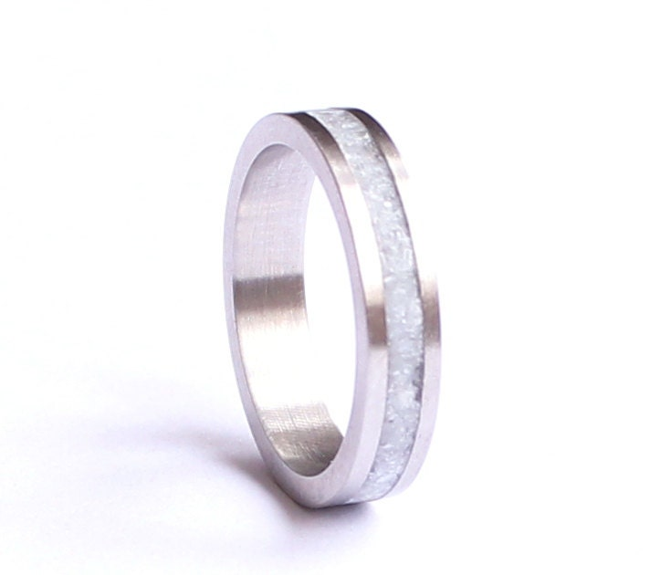 s wedding band stainless steel wedding ring with