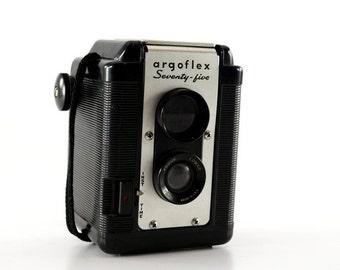 1949 Argoflex Seventy-Five Argus Camera - Vintage Photography
