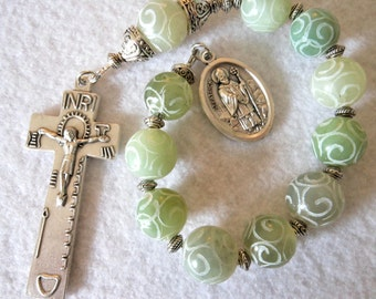 St. Patrick Traditional Penal Crucifix One Decade Rosary