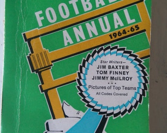 Vintage News of The World Small Football Annual 1964-65  - Paperback
