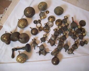 Finals - Door Knob - Brass -  40 pieces