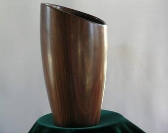Black Walnut Vase