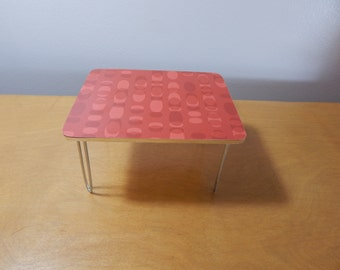 1/12 Scale Miniature Retro Mid-century Modern Dining Table