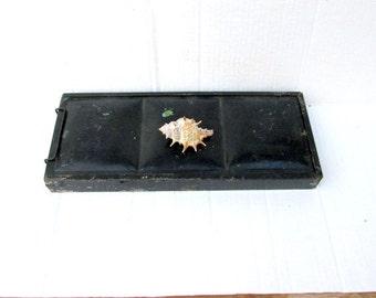 SALE Vintage Plein Air Metal Traveling Painting Box Kit