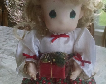 Precious Moments Christmas Doll