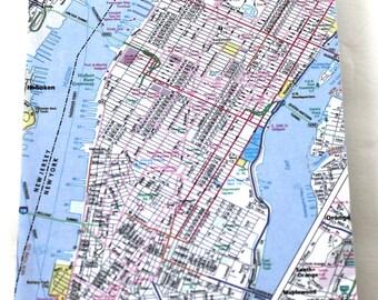 New York City Lined Notebook, Travel Notebook Manhattan