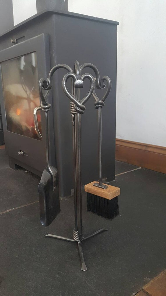 heart fire companion set fire tools 16 fire irons. Black Bedroom Furniture Sets. Home Design Ideas