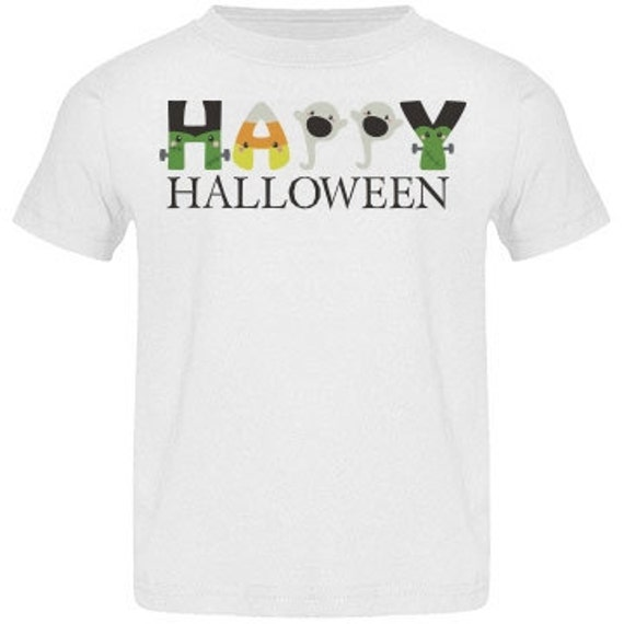 INSTANT DOWNLOAD Halloween Candy Corn Ghost Letters Printable DIY Iron On to Tee T-Shirt Transfer - Digital File
