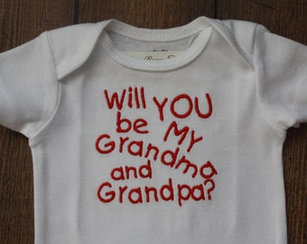 Will you be my Grandma and Grandpa?