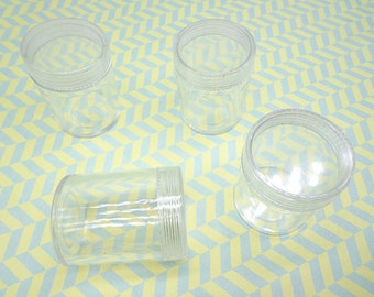 10PCS Cylindrical Plastic Box Small Clear Plastic Boxes, Display Boxes, Clear Display Cases,Transparent plastic box