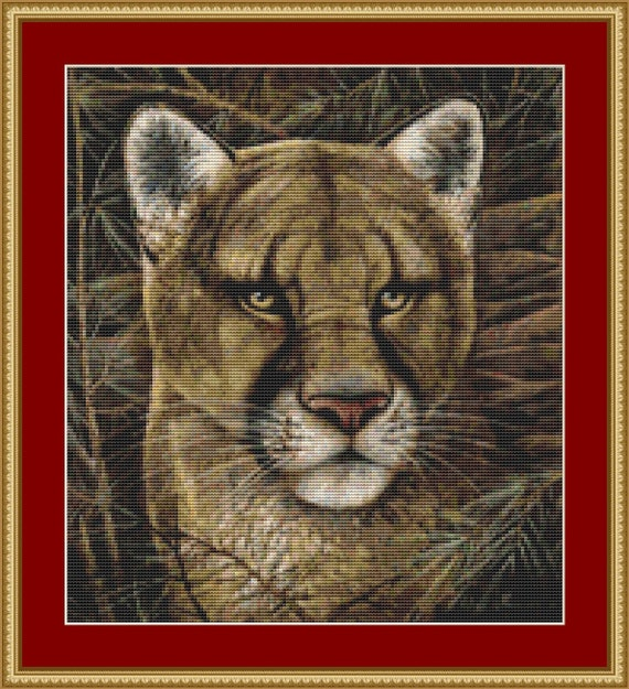 Elusive Encounter Cross Stitch Pattern /Digital PDF Files /Instant downloadable