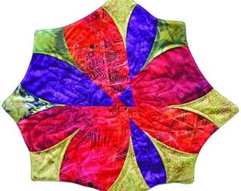 Funky Flower Mats by Southwind Designs
