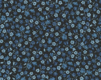 True Blue Calico Navy by Timeless Treasures Geo-C4271-Navy
