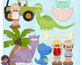 2015 Dinosaur Park Clip art  Clipart Graphics  Commercial Use