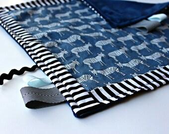 taggies lovie lovey blanket- zebras