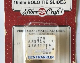 Fibrecraft Bolo Tie Slides Rodeo Craft Supply 16mm