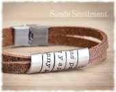 Mens Personalized Bracelet • Gift For Boyfriend • Anniversary Gifts For Men • Mens Graduation Gift • Mens Jewelry