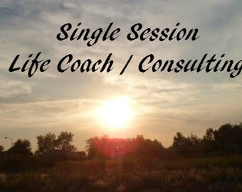 Life Coaching Session ~ Consulting Session ~ Self Improvement Session by Professional Empath ~ Spiritual Counseling