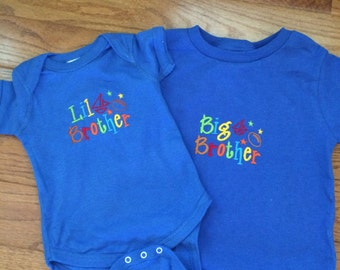 Big/Lil Brother Shirt and Bodysuit